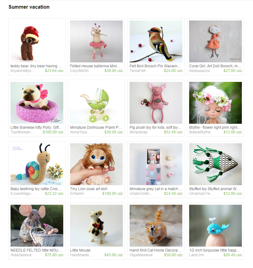 My Lion was added to Summer vacation by Yulia on Etsy