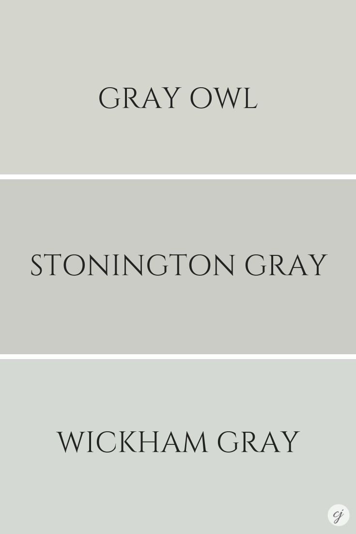 #bathroom Gray Owl by Benjamin Moore Colour Review Claire ...