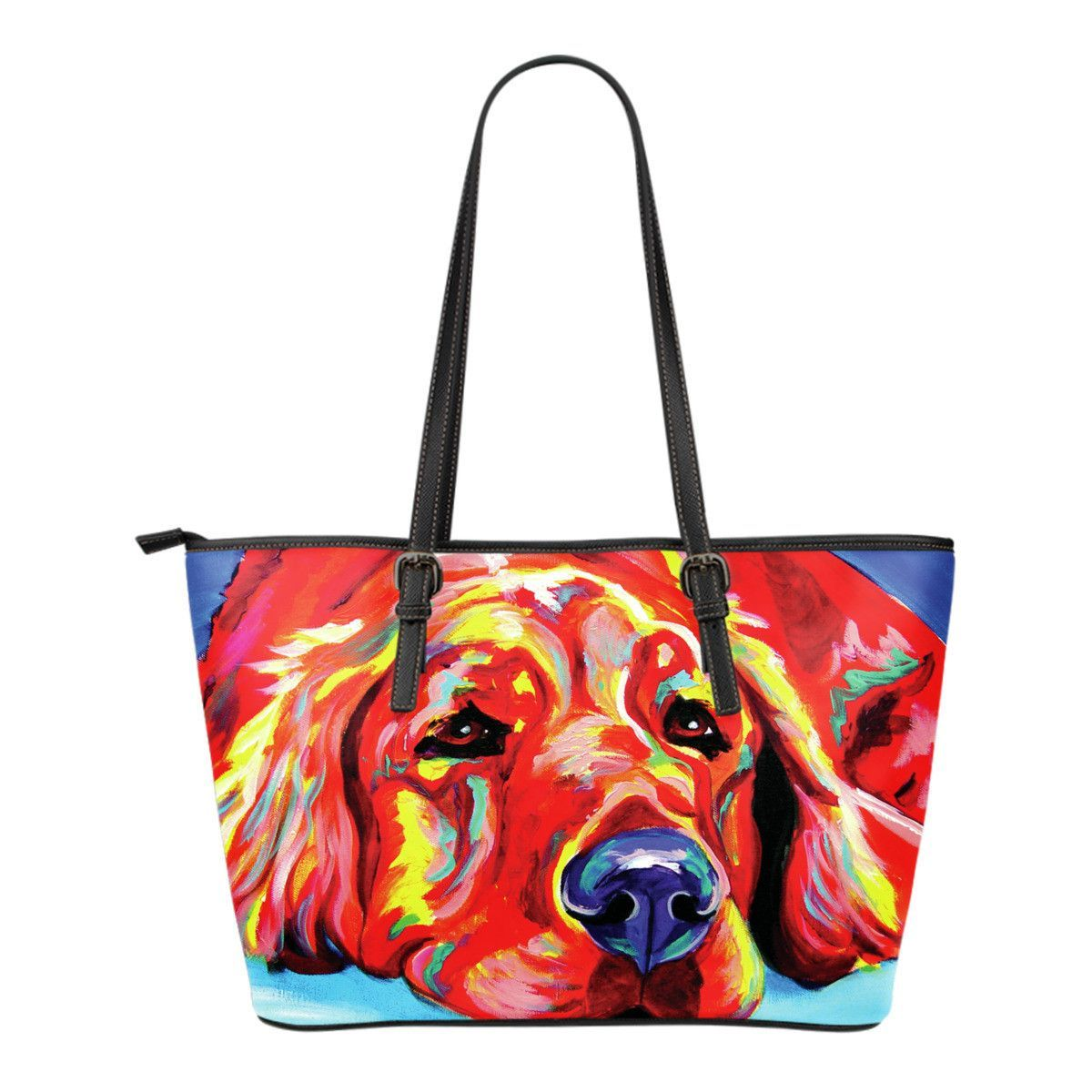 Golden Retriever Ranger Small Tote