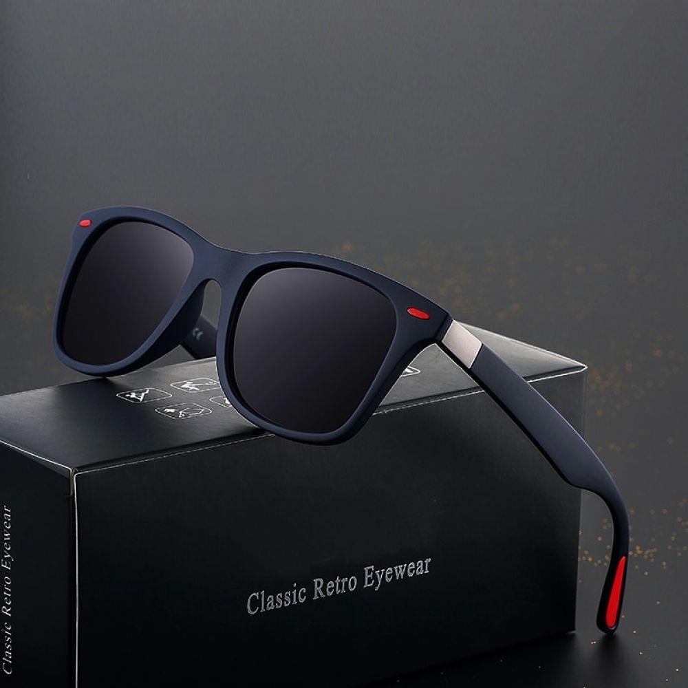 Classic Design Polarized Men Women Sunglasses Driving Square Frame Glasses