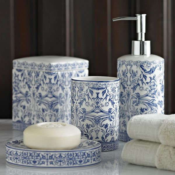 Orsay Blue Bathroom Accessories Make A Statement With Our Stunning Bath Inspired