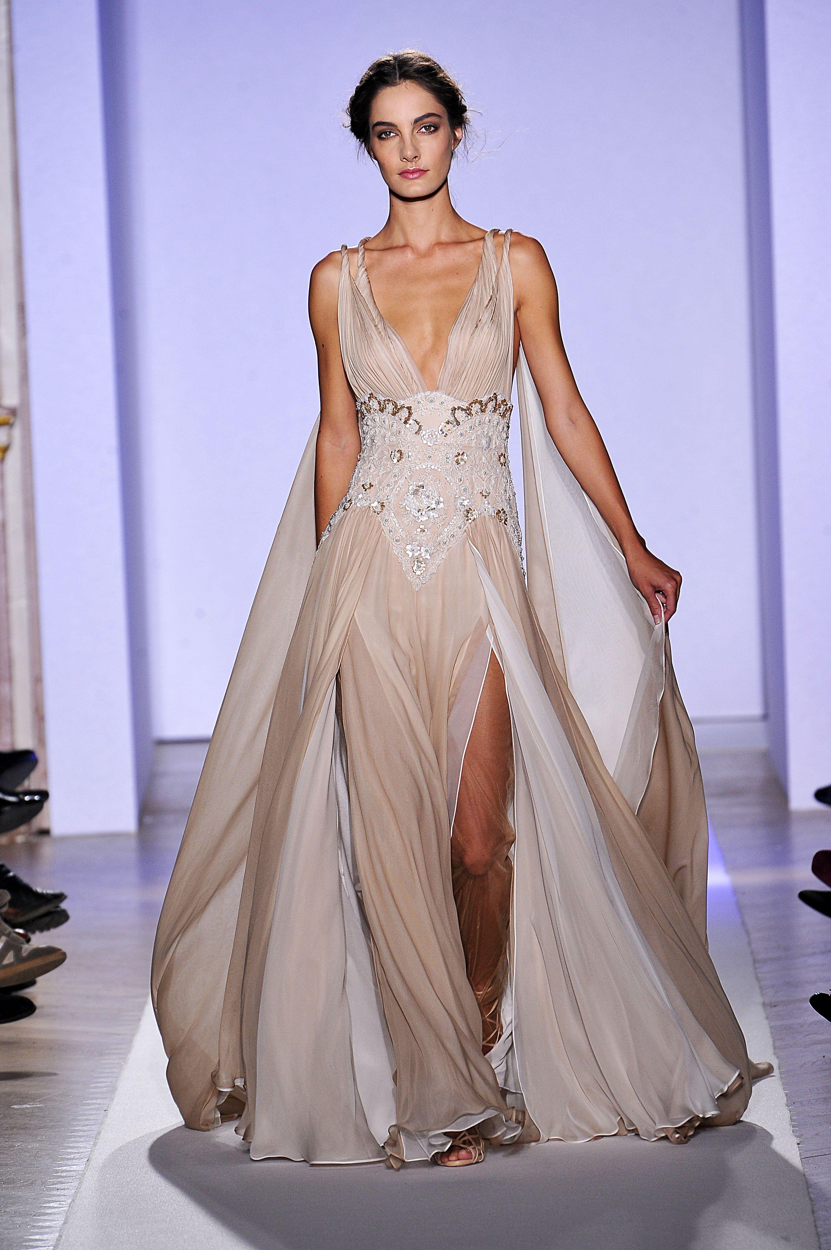 Zuhair murad altacostura primaveraverão zuhair murad gowns