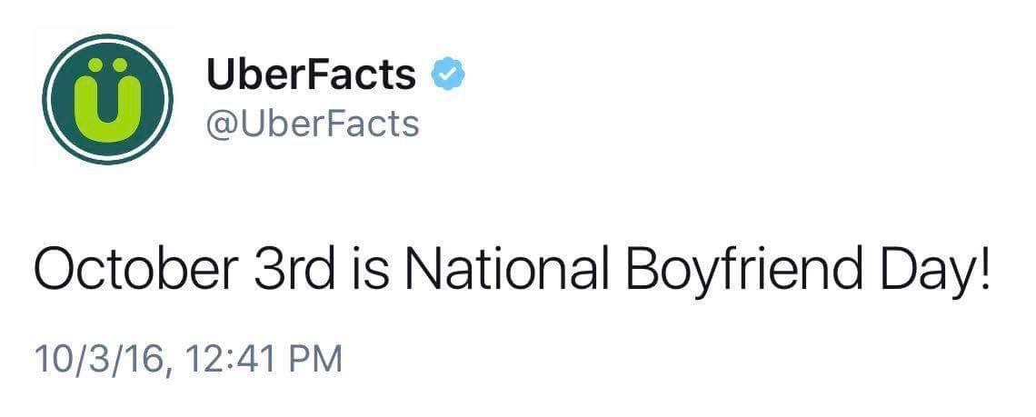 Happy national boyfriend day! | Quotes | National boyfriend