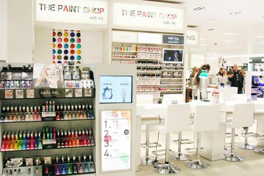 724eeb14ab990 The Paint Shop by Nails Inc. at Selfridges
