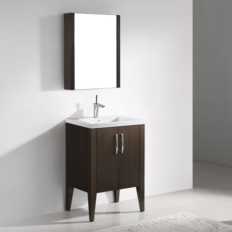 Caserta 24u201d Modern Single Sink Bathroom Vanity By Madeli Model #: CASERTA 24