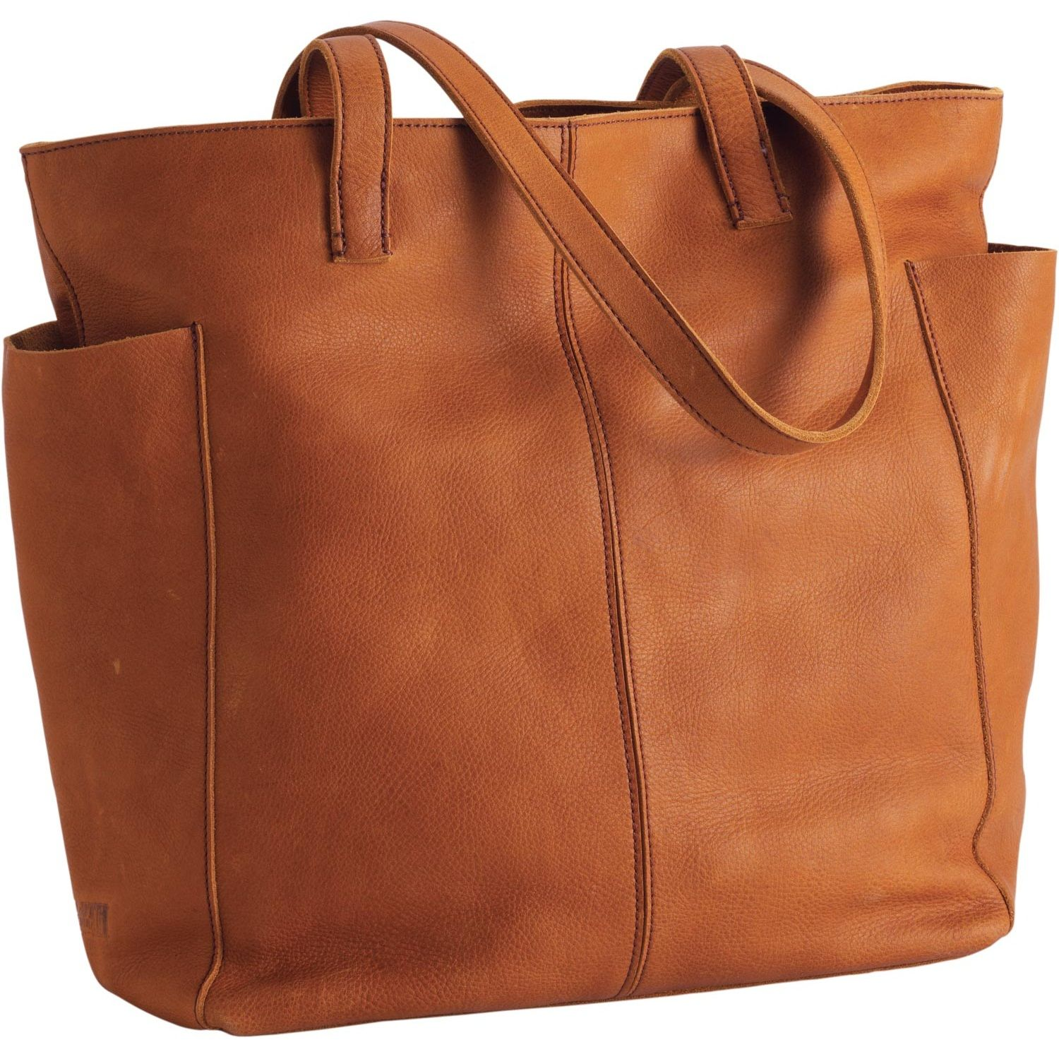 Women's Lifetime Leather Travel Tote Bag - Duluth Trading ~ I want ...