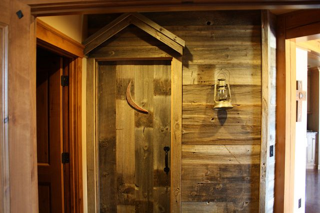 The Double Cross Outhouse Bathroom Door For The Home