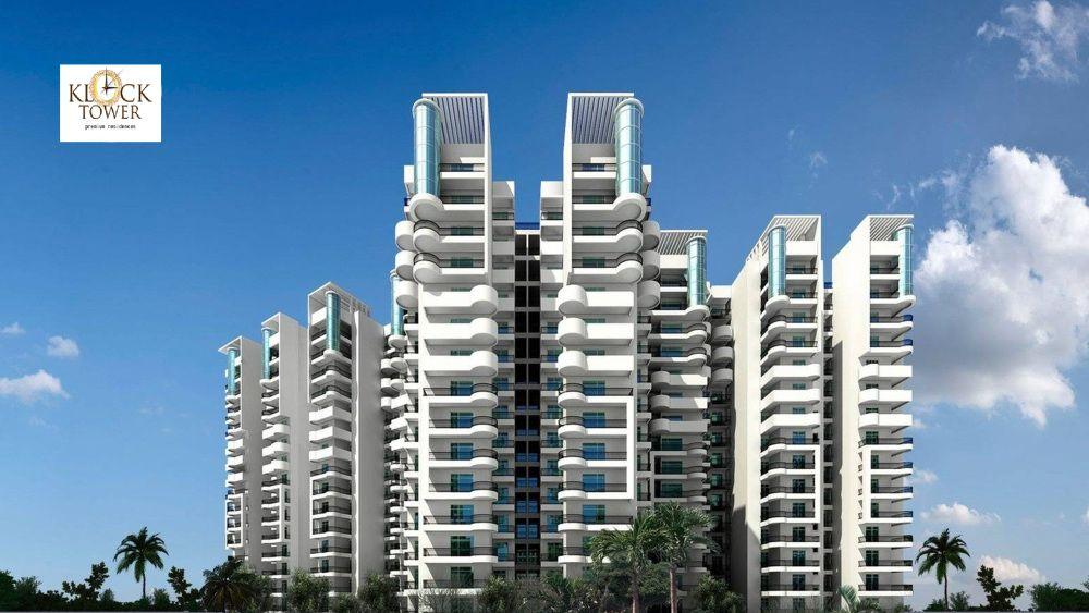 Ajnara Klock Tower Best Residential Society Tower Real Estate Development Skyline