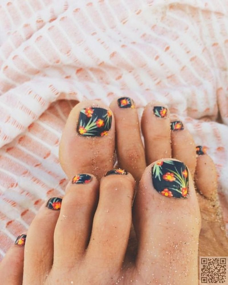 23 Fashionable Pedicure Designs to Beautify Your Toenails forecasting