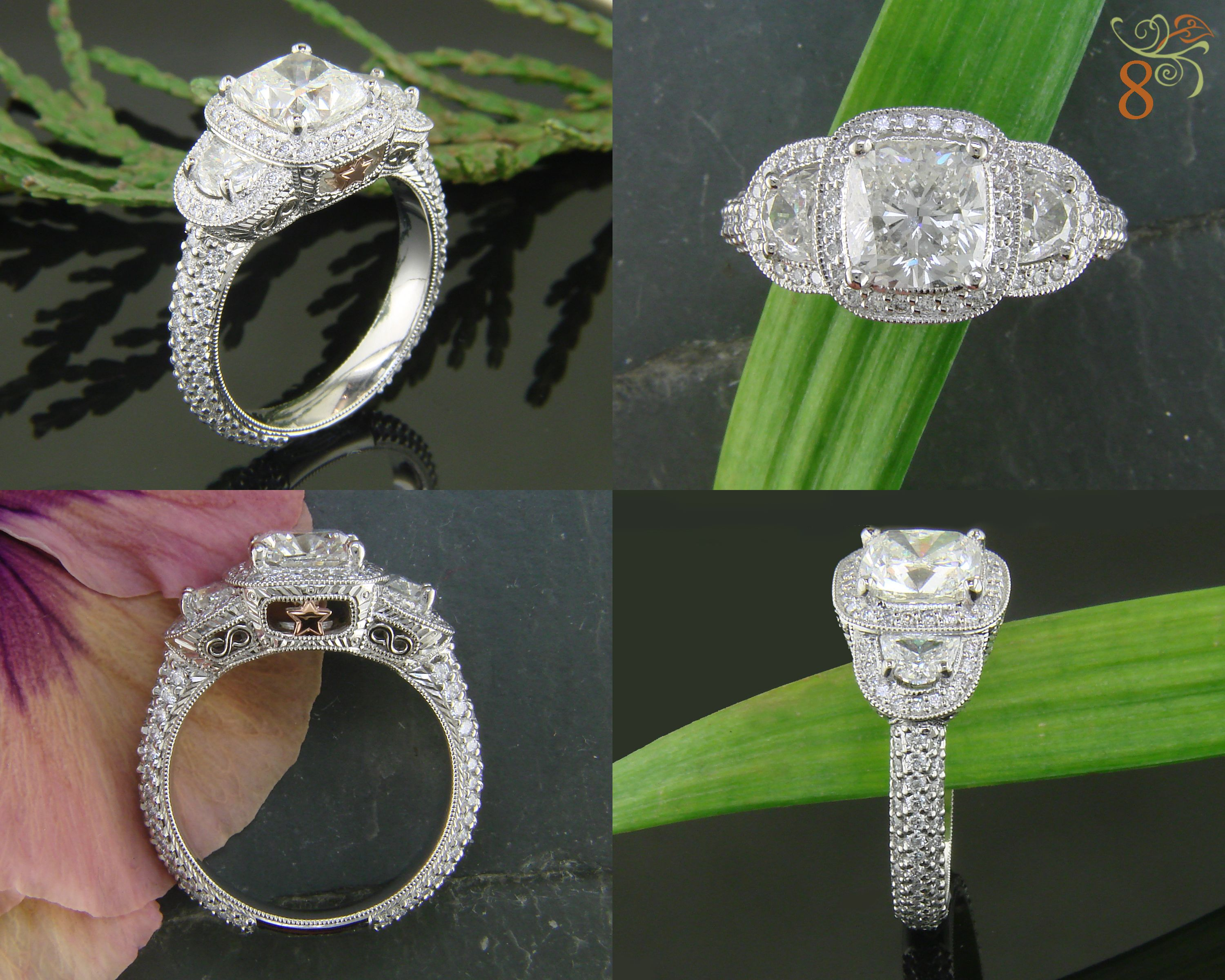 cttw rings cut diamond gold prod square ring wid size p only qlt hei white engagement month