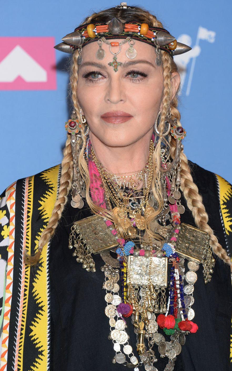 Madonna Jennifer Lopez And Kylie Jenner Mtv Video Music Awards 2018 Stars Mtv Video Music Award Madonna Mtv