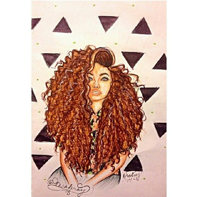 Natural curly hair | All about mixed girls ♡ | Pinterest