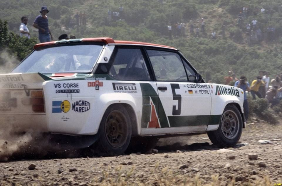 Acropolis 1978 Fiat 131 Abarth Walter Rohrl And Christian