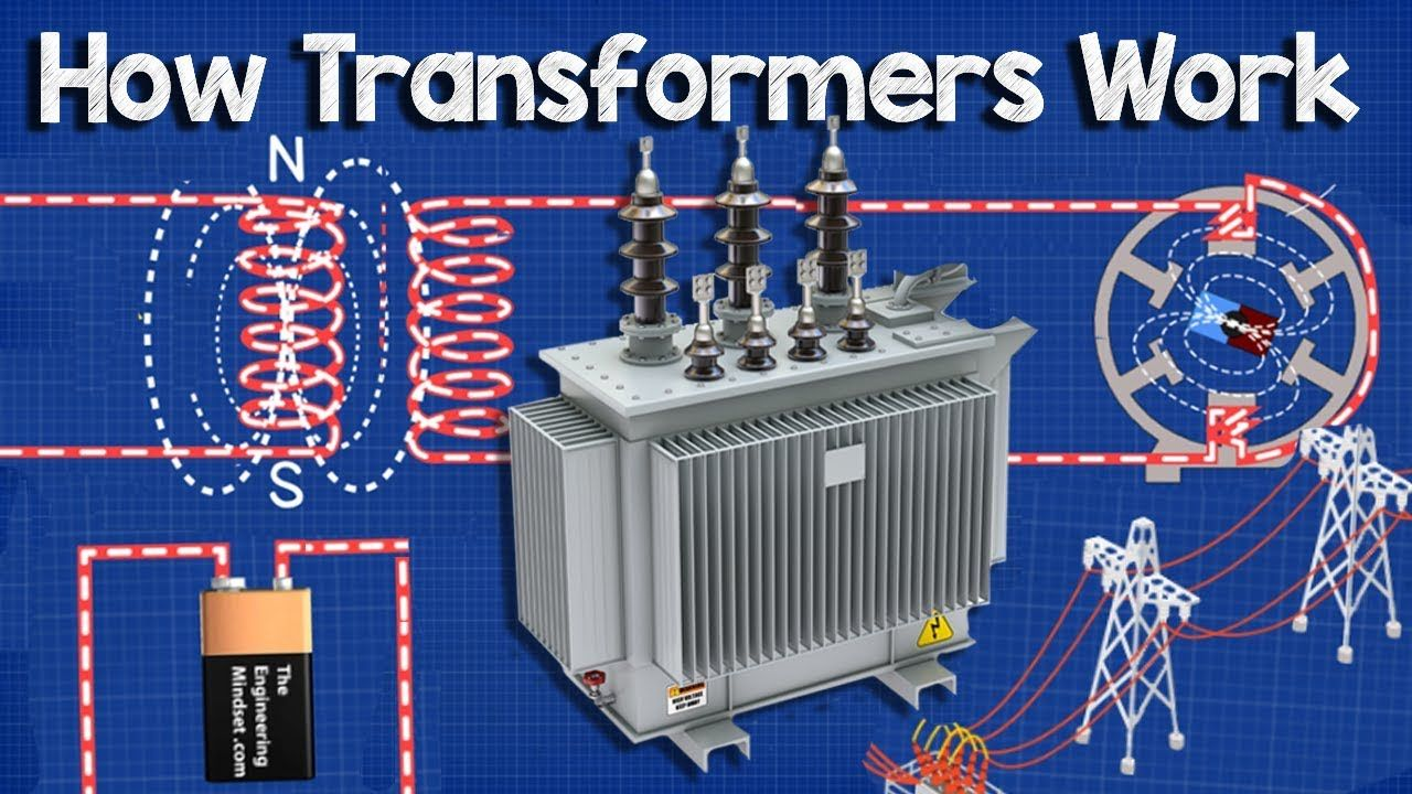 How Does A Transformer Work Working Principle Electrical