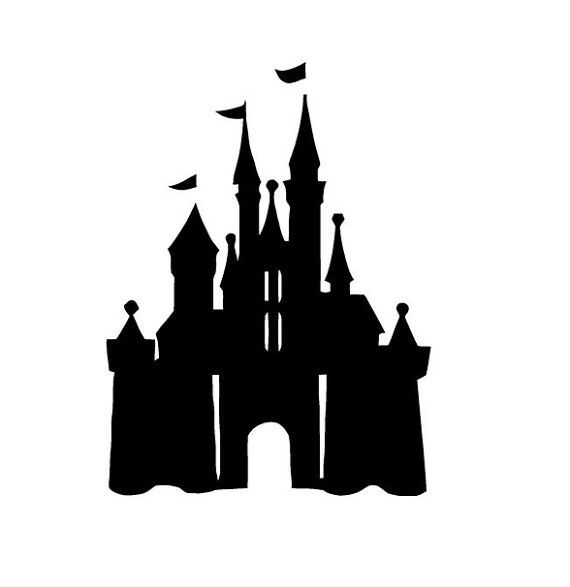 Disney Castle Vinyl Decal Disney Collections Sticker Disney