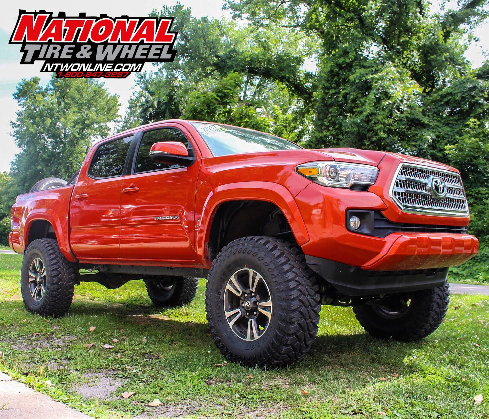 Ntw Install This 2017 Toyota Tacoma Received A 6in Rough Country