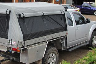100% Custom Made Ute Trayback Frames and Canopies in Australia - All Terrain C&er Trailers : ute tents australia - memphite.com
