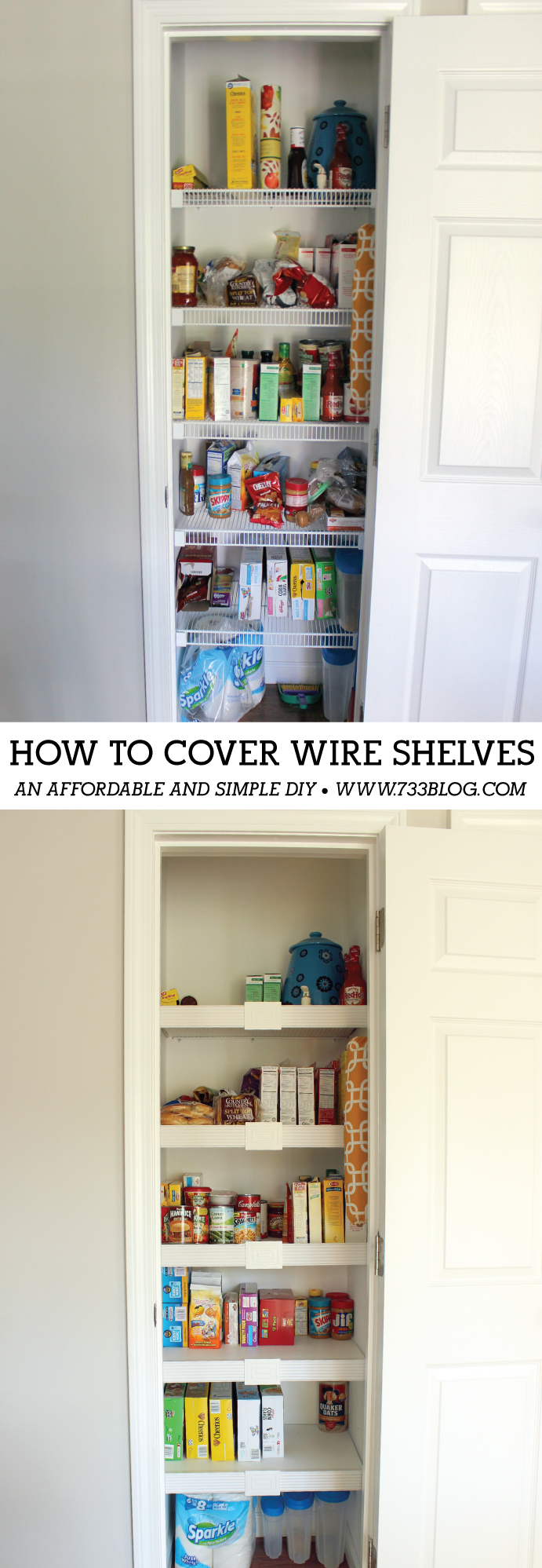 Help my shelf pantry transformation wire shelving simple diy and