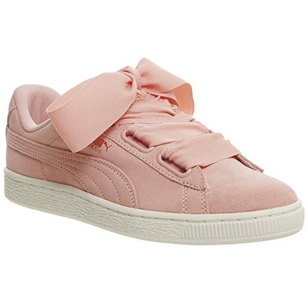 puma heart basket damen grau