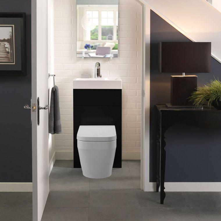 Idée déco toilette moderne, classique, élégante | Tiny bathrooms ...