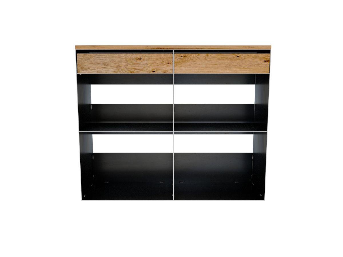 kaminholzregal sideboard stahlm bel pinterest kaminholzregal eiche und kaminholzregal metall. Black Bedroom Furniture Sets. Home Design Ideas