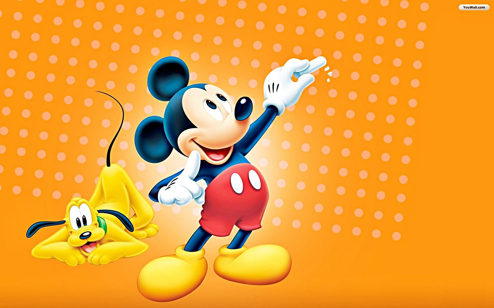 Walt Disney Wallpaper Of Pluto And Mickey Mouse HD Background Photos Wallpapers