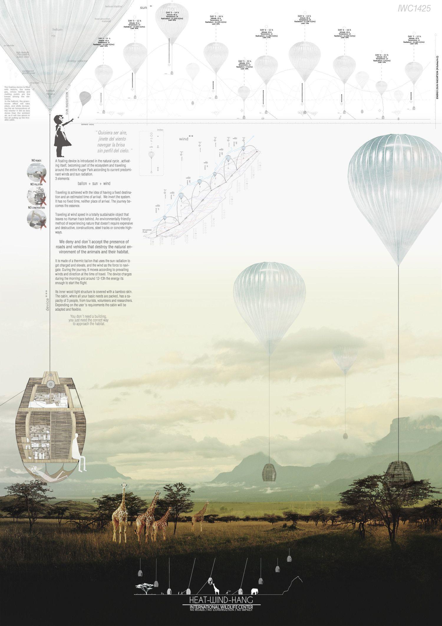 3 panel poster board designs - Galer A Iwc Frica Anuncian Ganadores De Ideas Sobre Centro De Visitantes En Reserva Natural
