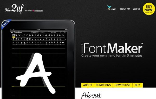 Create your own font with these 14 best tools via Super Dev Resources