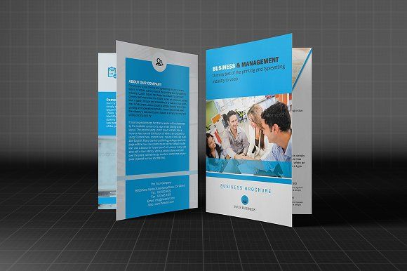 business bifold brochure by madhabi studio on creativemarket 1000