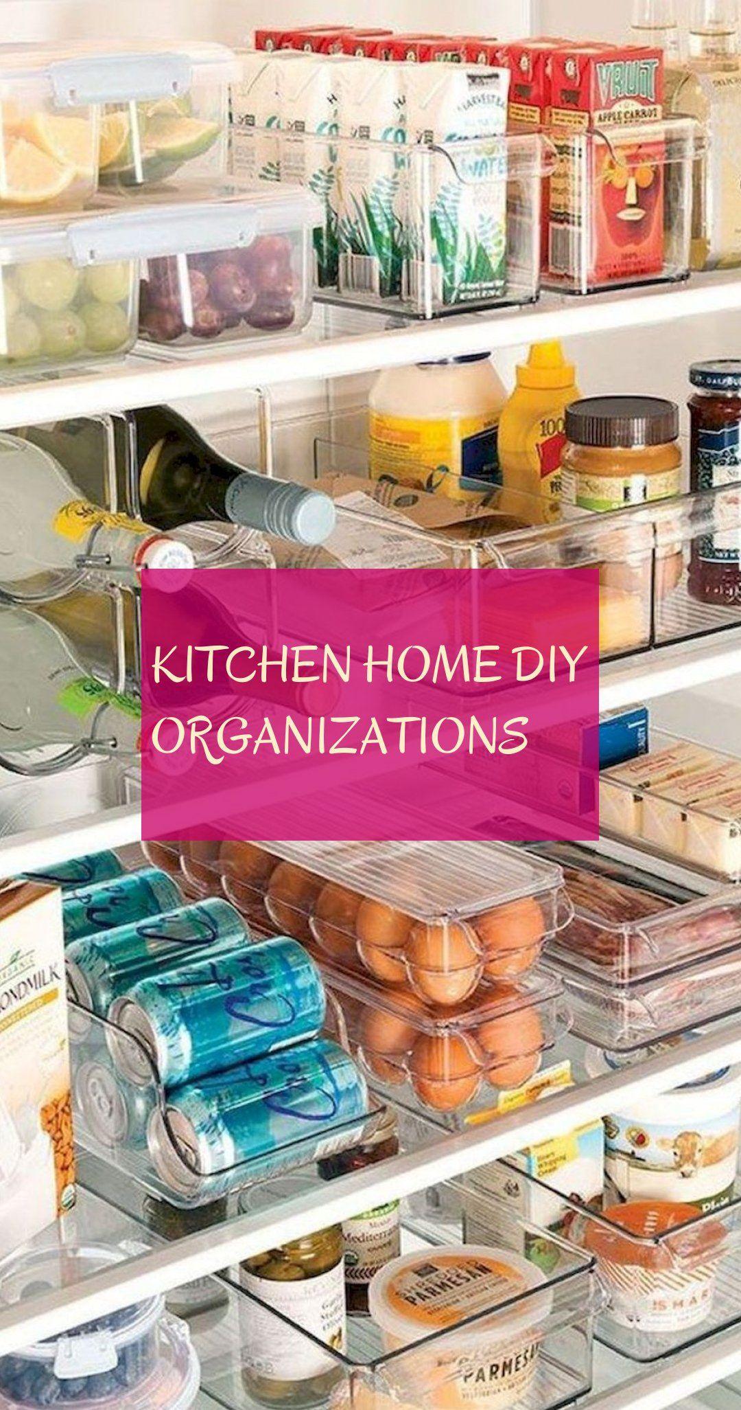 Kitchen home diy organizations
