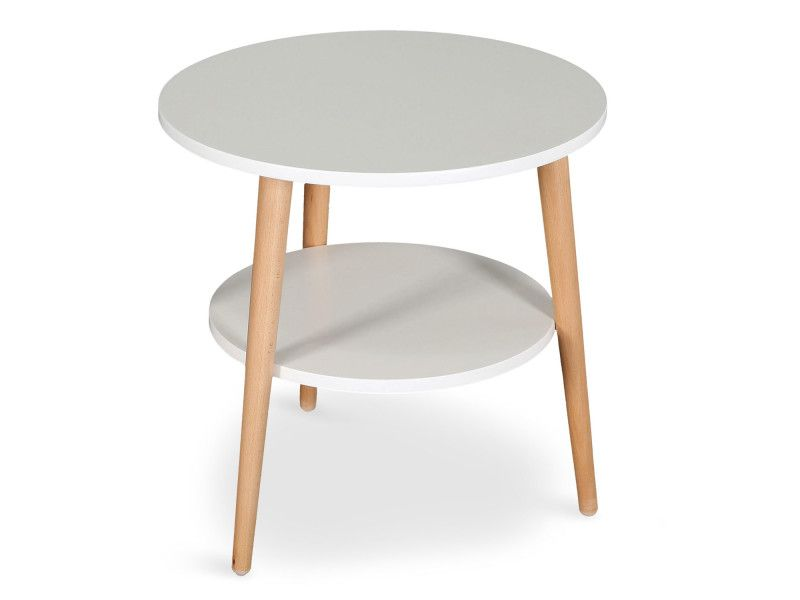 Table Basse D Appoint Scandinave Tiny Blanc Vente De