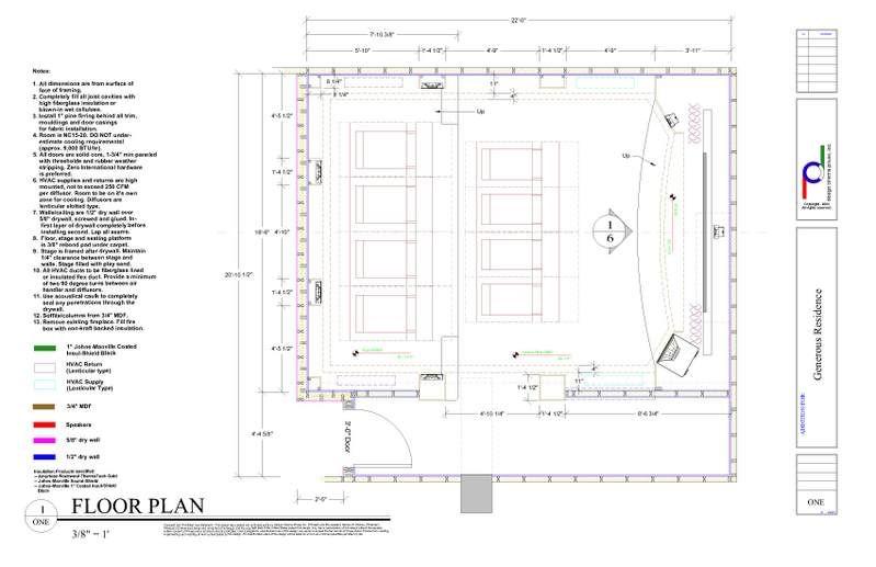HT Floor Layout photo GenerousFloor1.jpg | home theatre | Pinterest ...