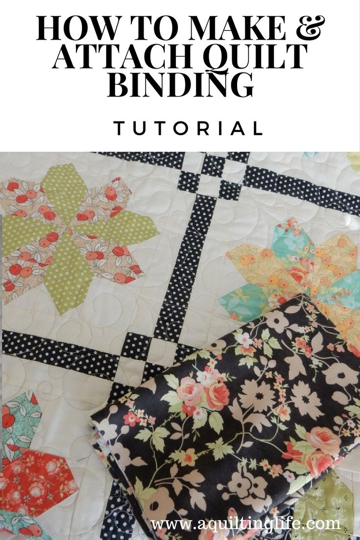 Quilt Binding Tutorial | A Quilting Life - a quilt blog ... : pinterest quilting tips - Adamdwight.com