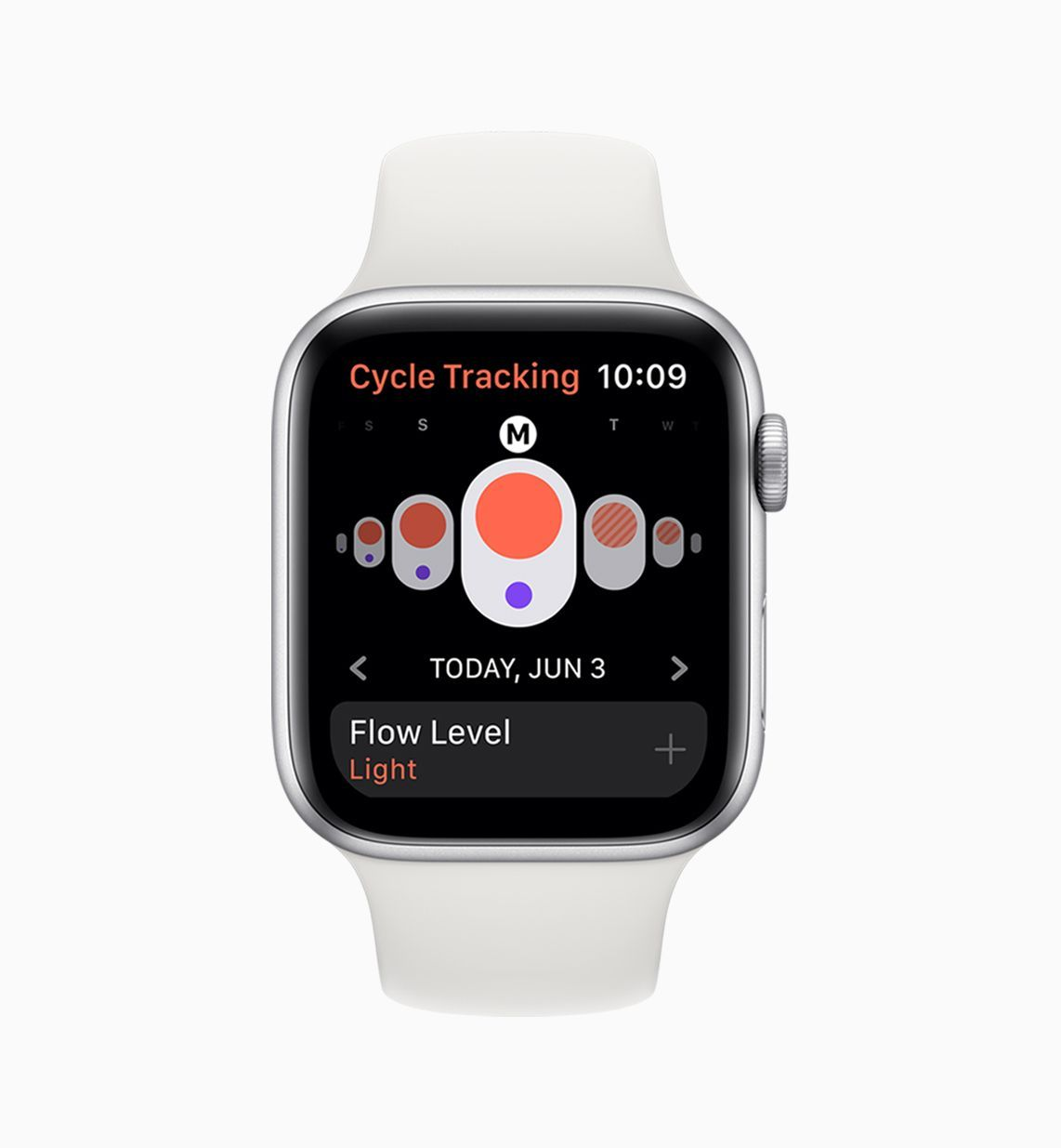 The Apple Watch Can Now Track Your Period Cycle tracking