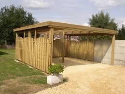 Abri Voiture Bois Recherche Google Outdoor Structures Outdoor Structures