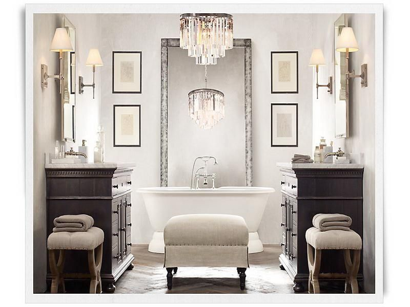 Restoration Hardware Bathrooms Modern Bathroom Vanities
