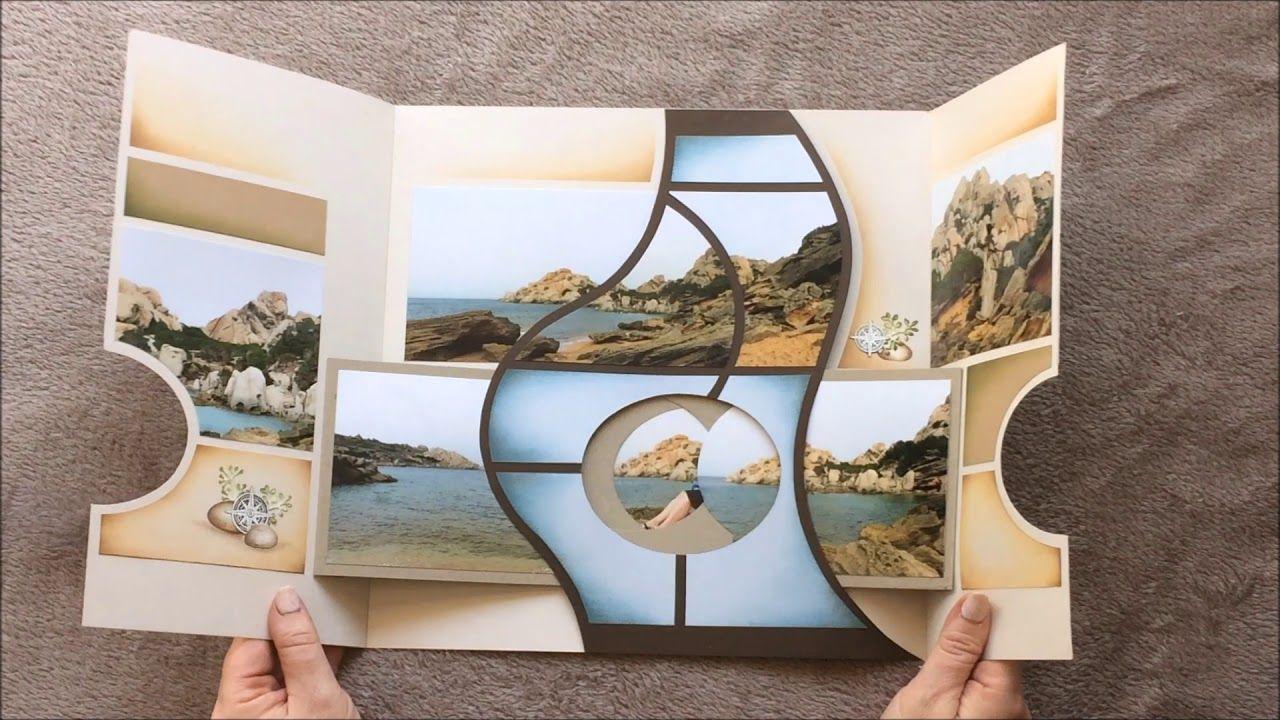 Capo Testa Youtube Vacation Scrapbook Scrapbook Tutorial