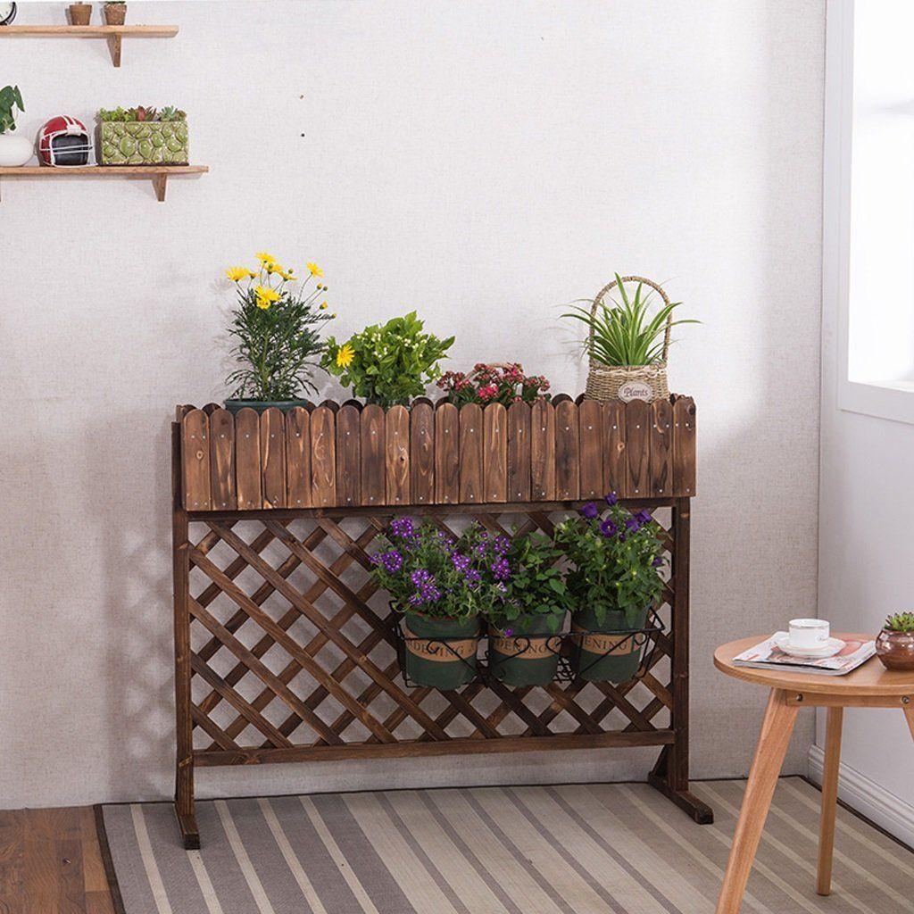 Massivholz Blume Rack Indoor Wohnzimmer Dekoration Blumenkasten ...