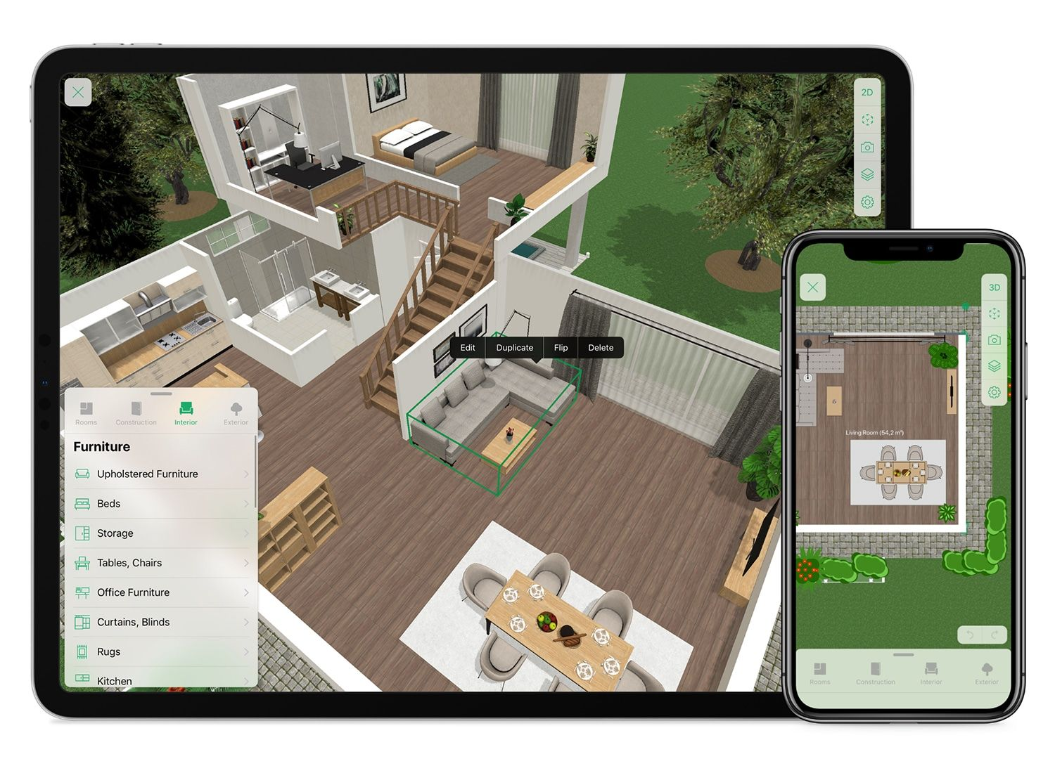 Free 3d Home Planner Design A House Online Planner5d In 2020