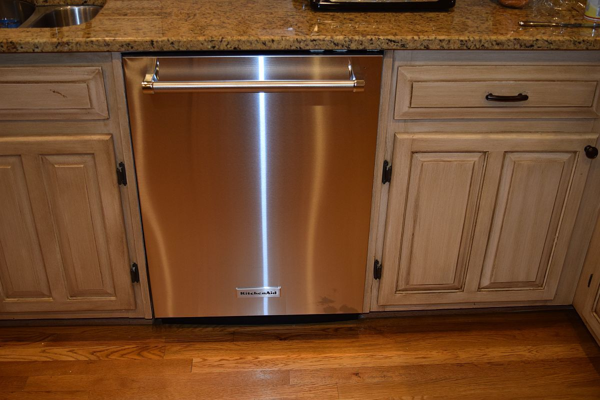 Installing the kitchenaid kdte204ess dishwasher diy