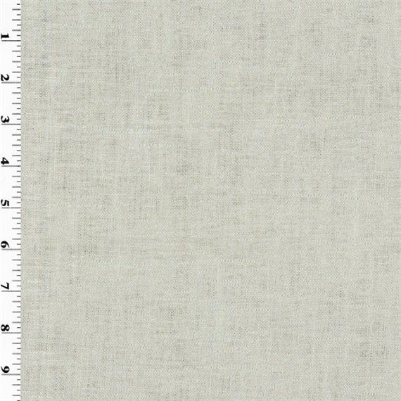 Silver Gaga Linen Lame Home Decorating Fabric, Fabric By ...