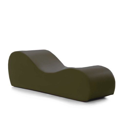 Liberator Esse Chaise Olive Faux Leather by Liberator. $375.00.  sc 1 st  Pinterest : esse chaise - Sectionals, Sofas & Couches
