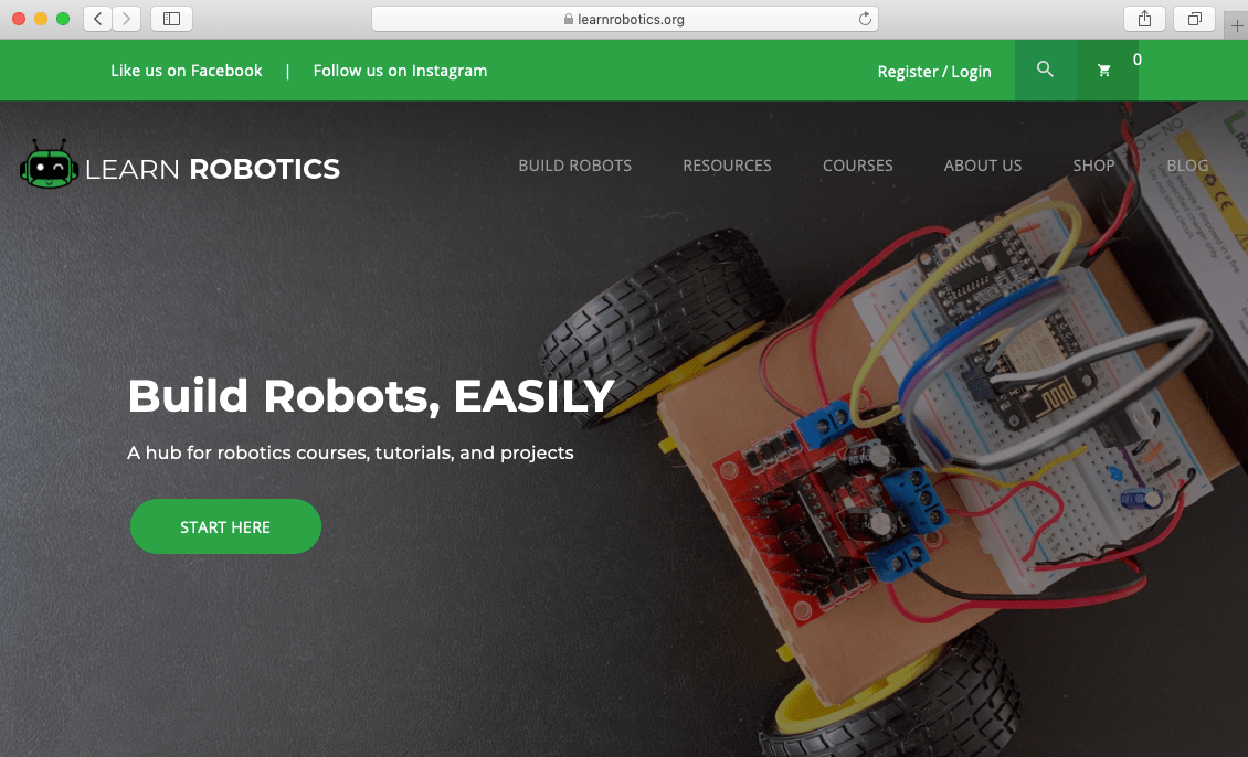 Want to build Robots? Then you'll want to check out our