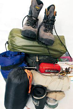 6b1e9325d46 Conseils pratiques pour bien faire son sac à dos pour la randonnée et le  trek. Liste des équipements pour remplir son sac de trekking