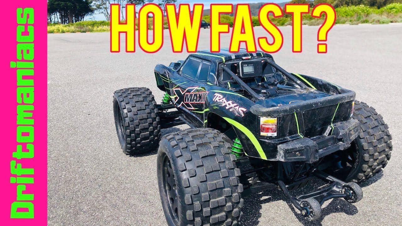 How Fast Is My Traxxas 8S X Maxx? in 2020 Traxxas, Best