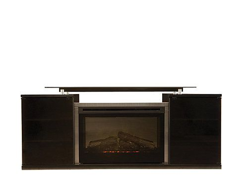 Marana 76 Tv Console W 33 Electric Fireplace Raymour Flanigan
