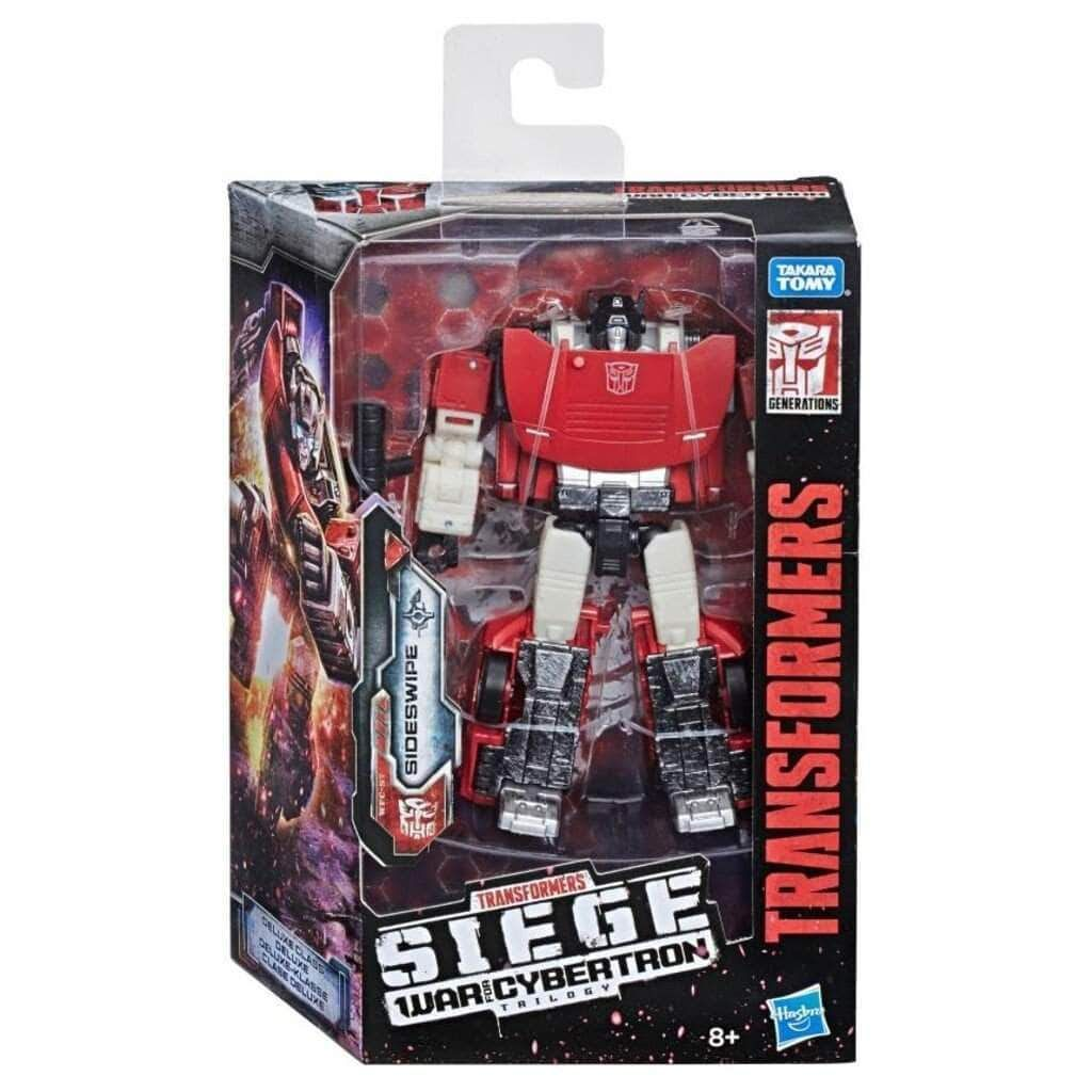 Transformers Generations Siege War for Cybertron Deluxe Class Sideswipe Figure