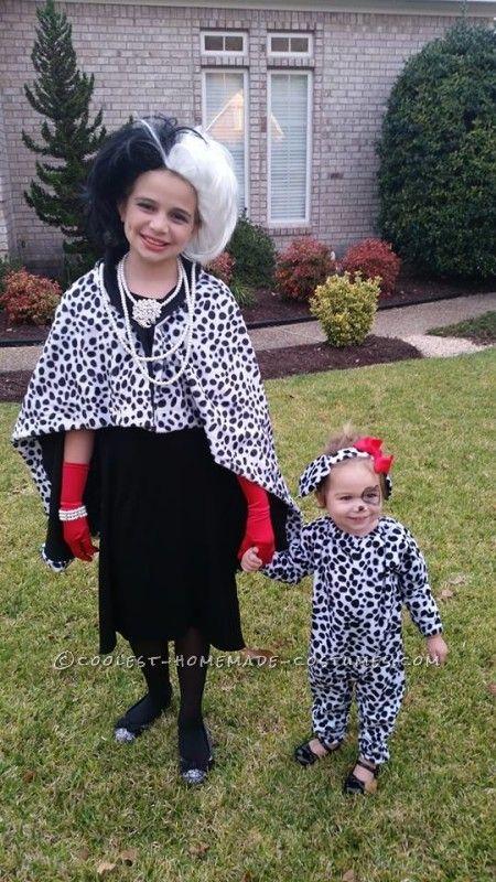 Evil Cruella and Her Innocent Dalmatian Puppy...