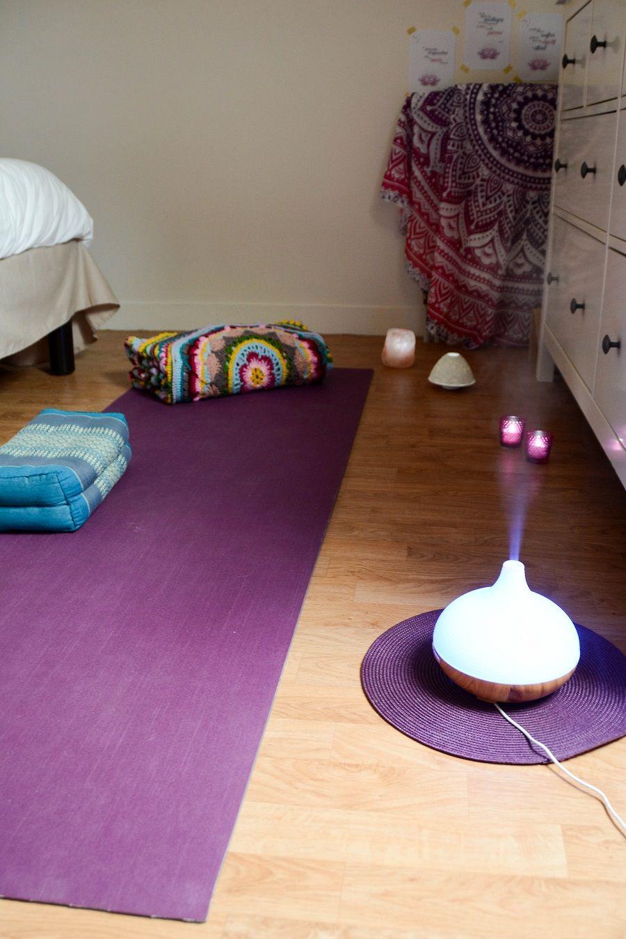 Aménager Une Salle De Yoga aménager un coin « yoga » à la maison | yoga à la maison