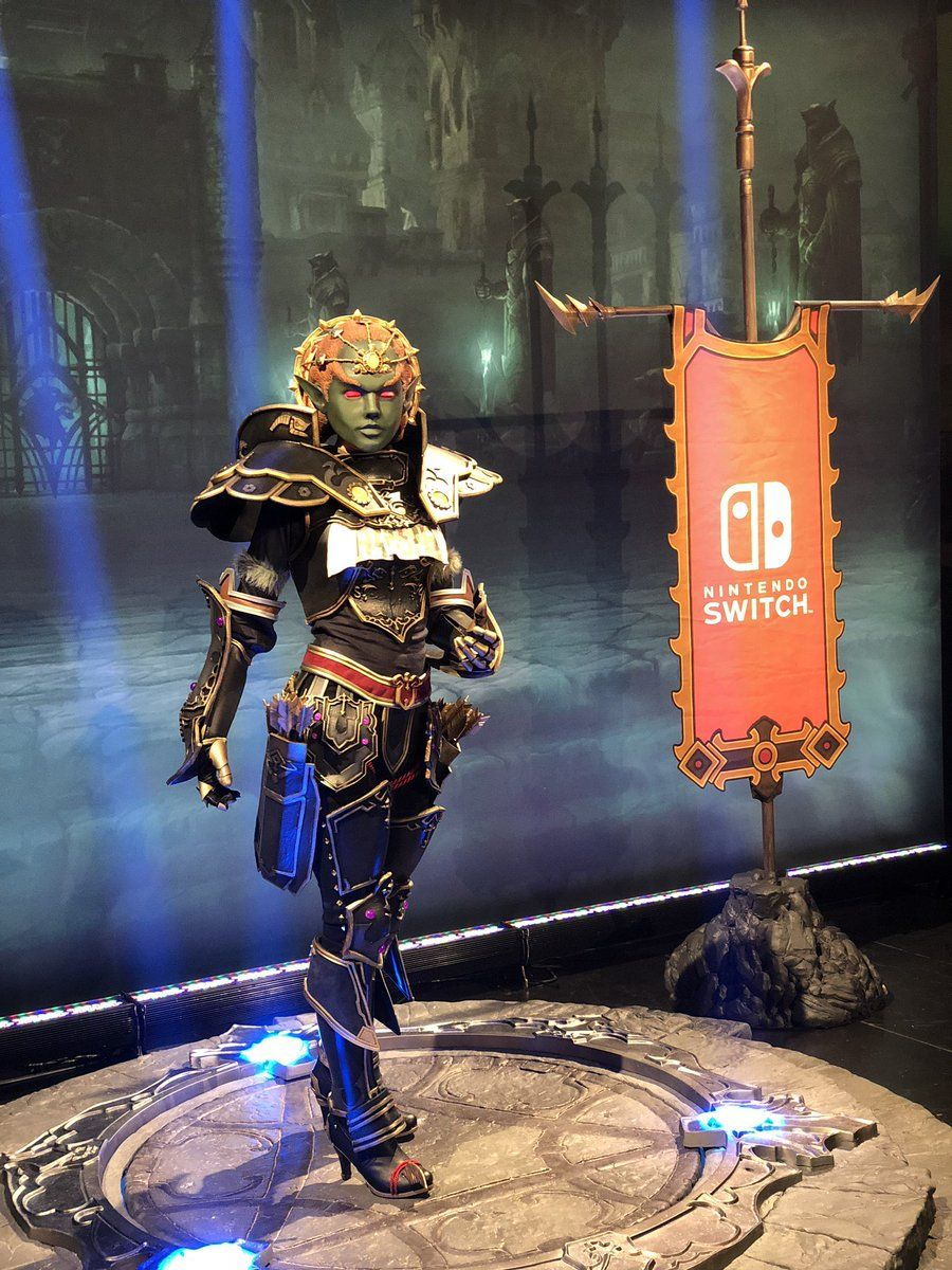 Doing Diablo 3 Ganondorf Armor At Blizzcon Is Ridiculously Amazing